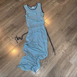 GAP sleeveless maxi Dress size Medium Tall
